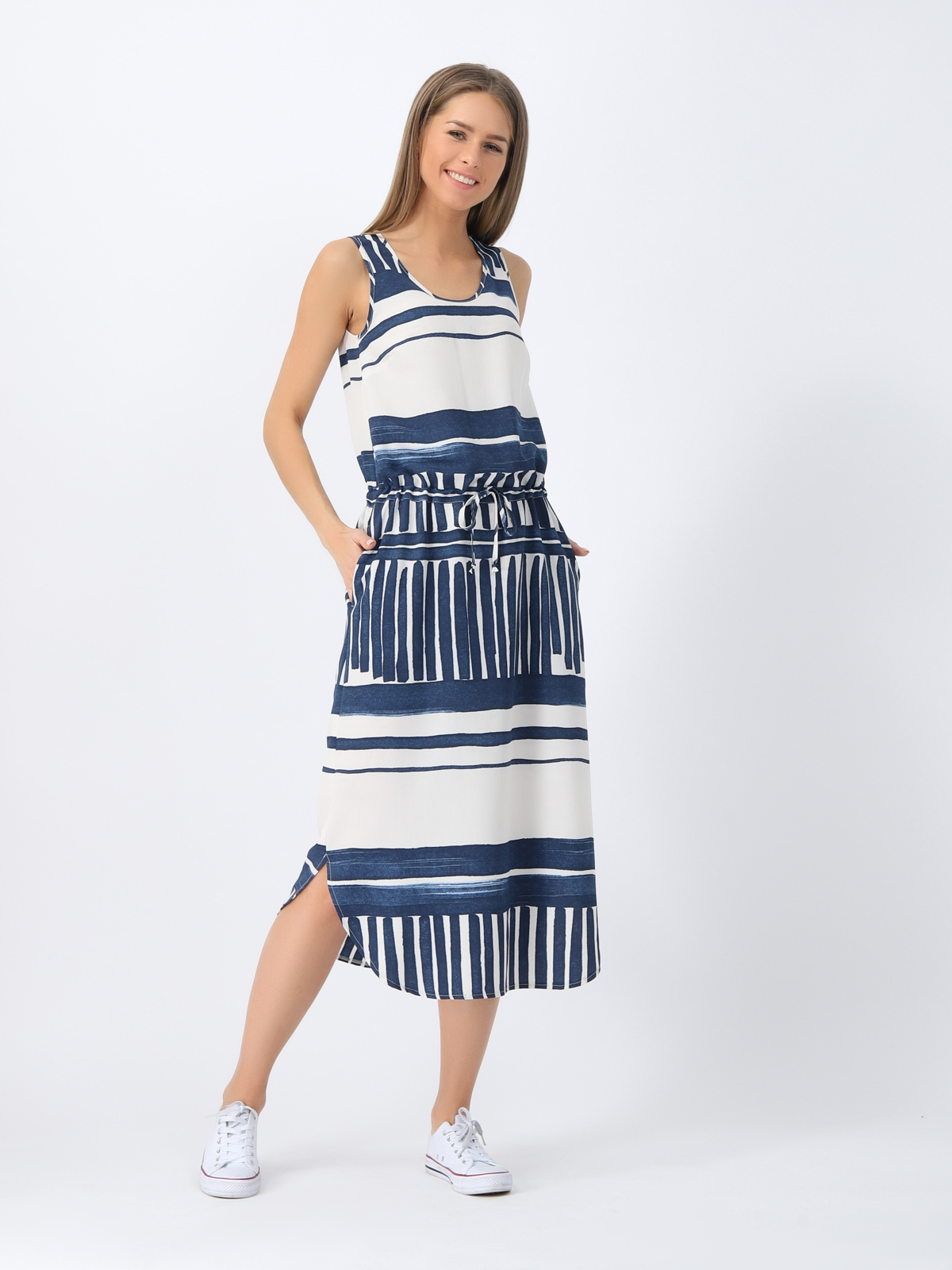 D4321 Платье VISAVIS женское Navy 1