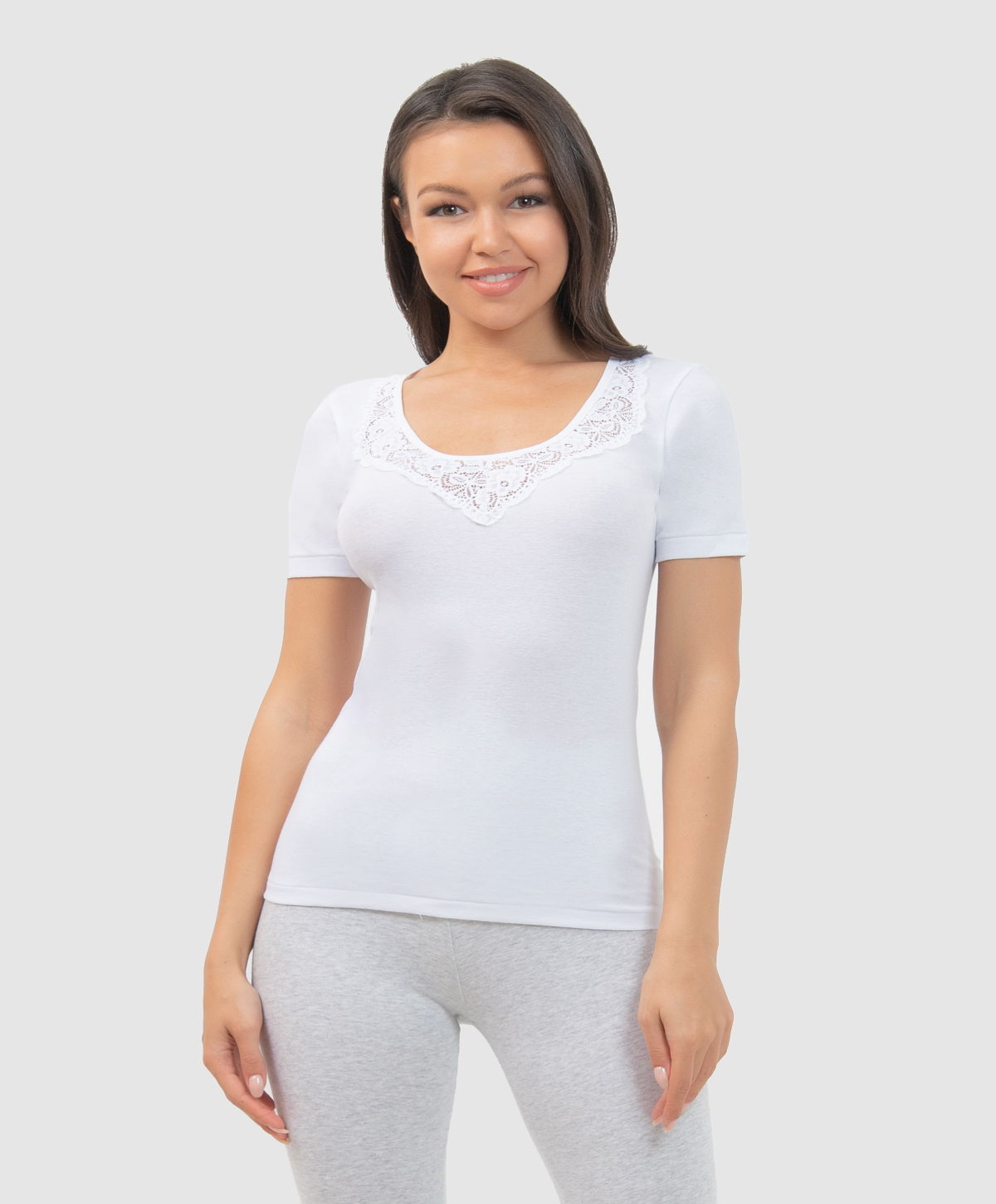 LF1002N Фуфайка VISAVIS женская White