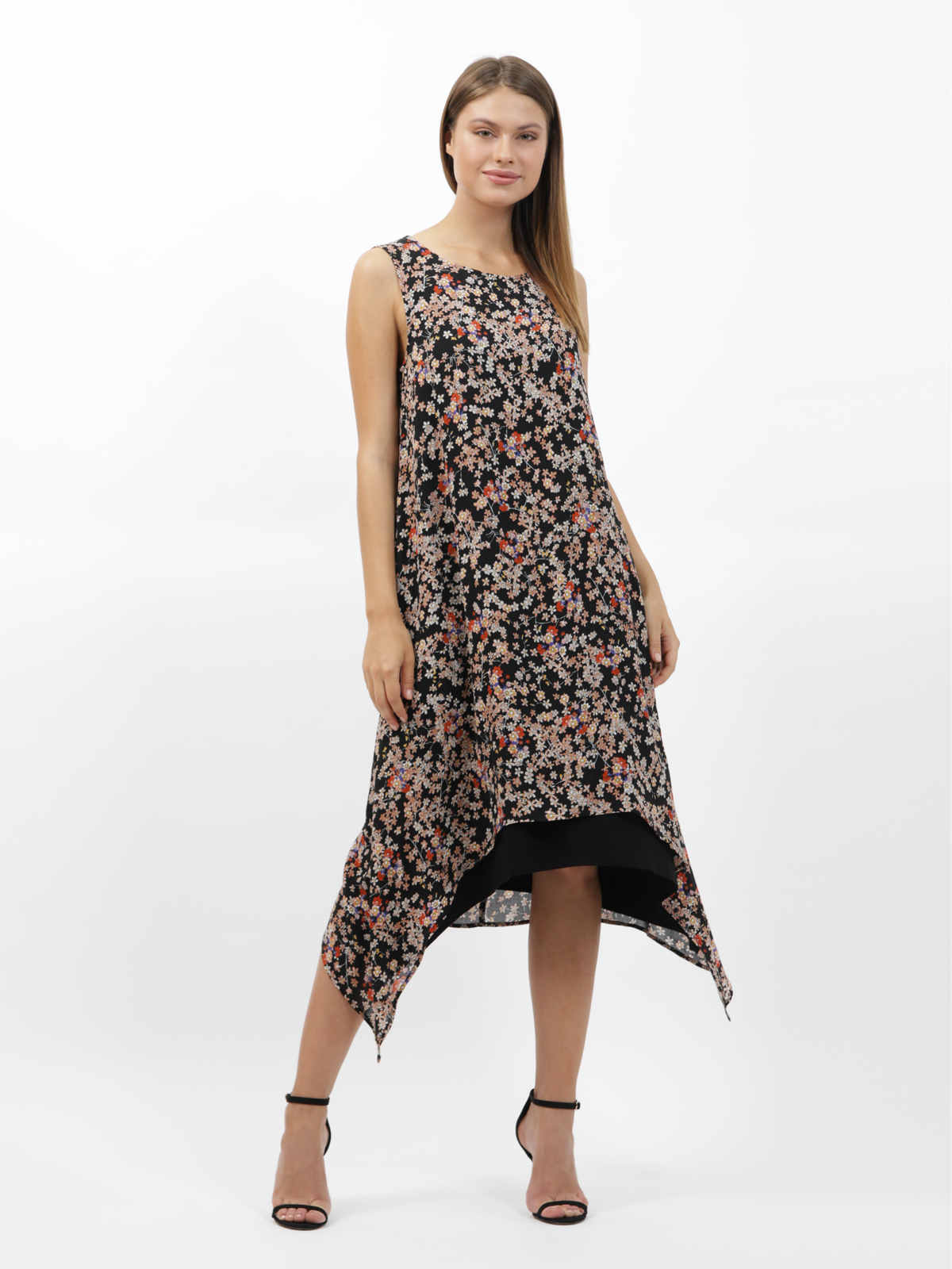 D4342 Платье VISAVIS женское  Black 1