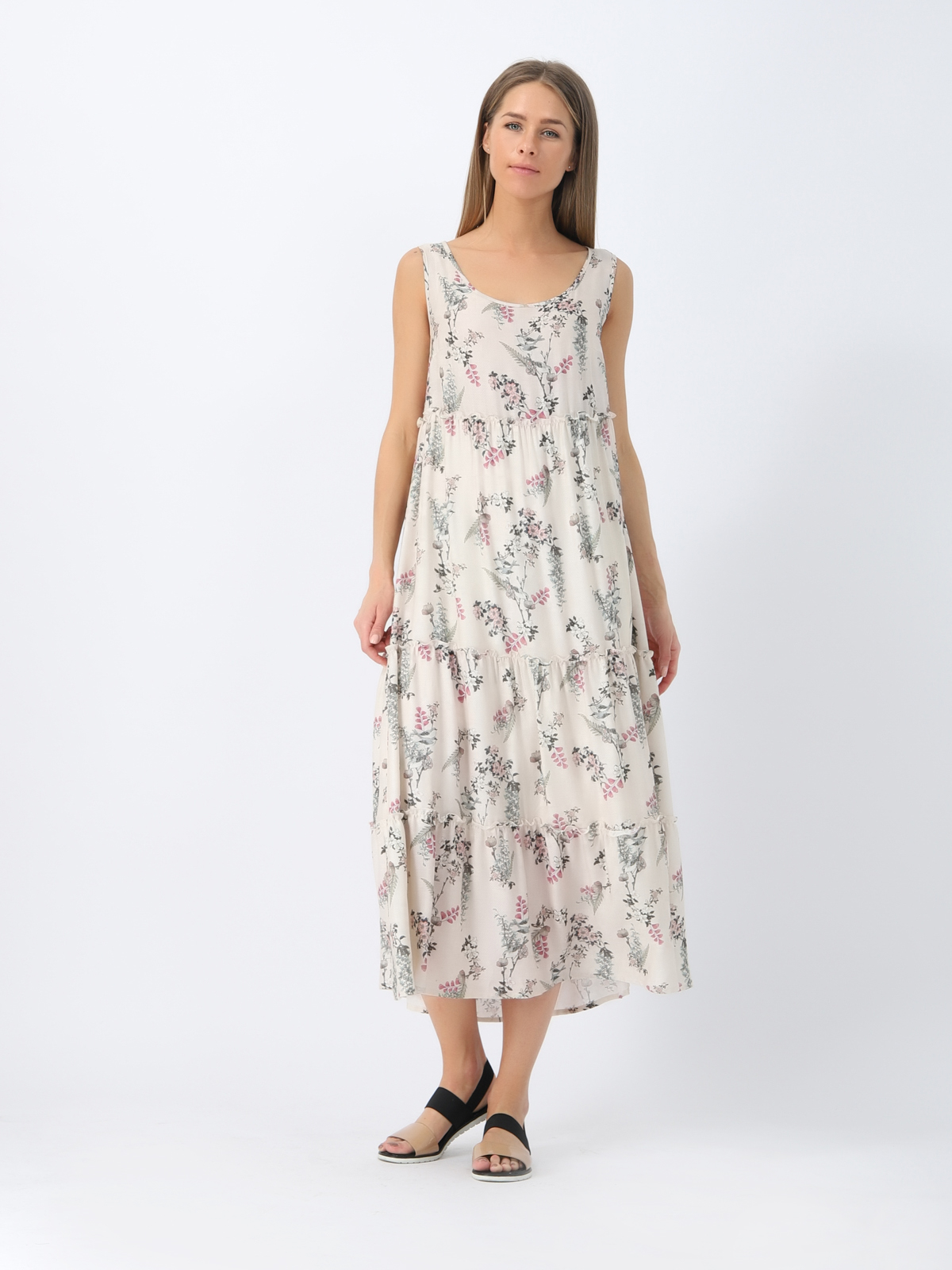D4394 Платье VISAVIS женское  Milk 1