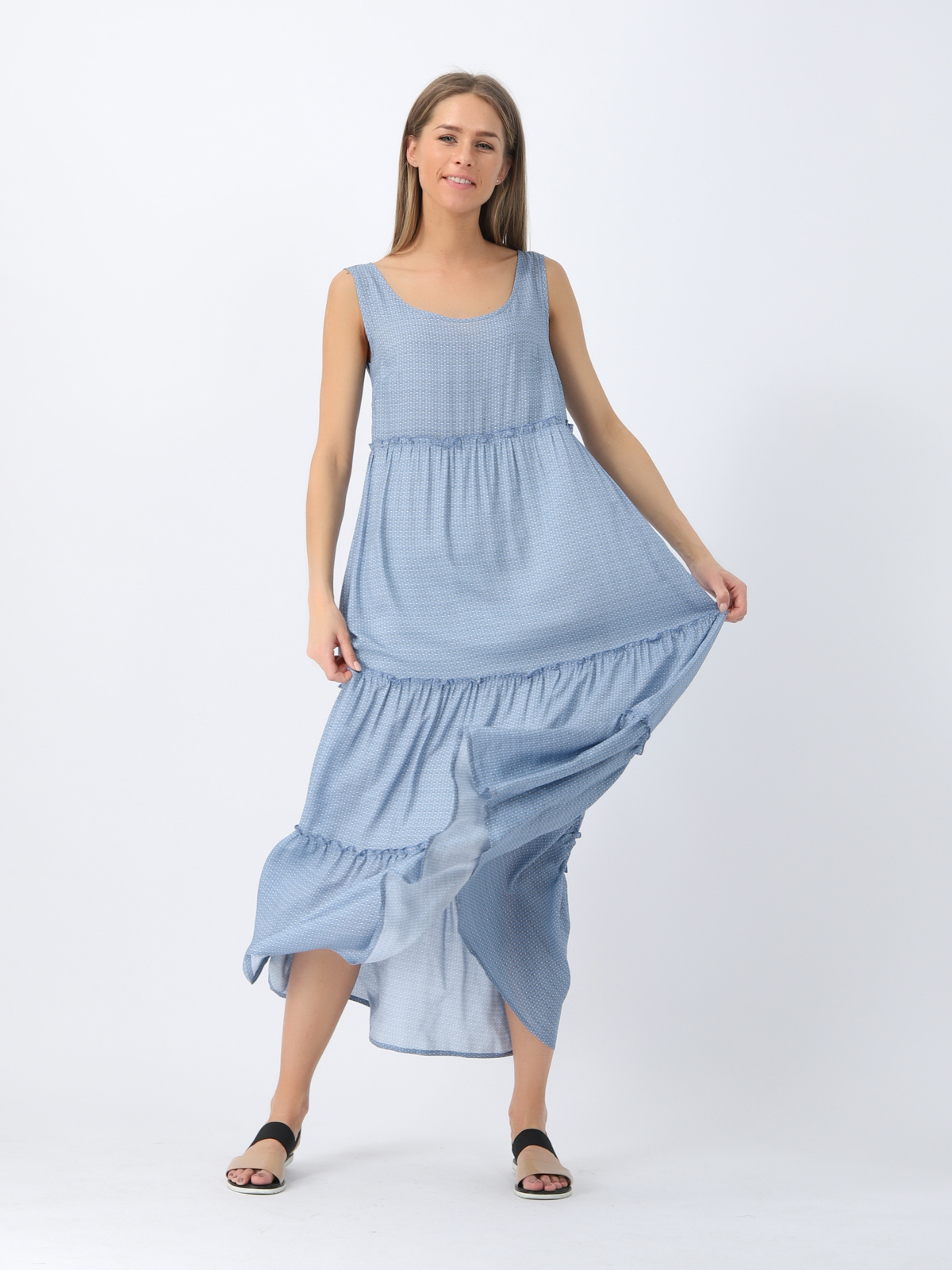 D4368 Платье VISAVIS женское  Blue 1