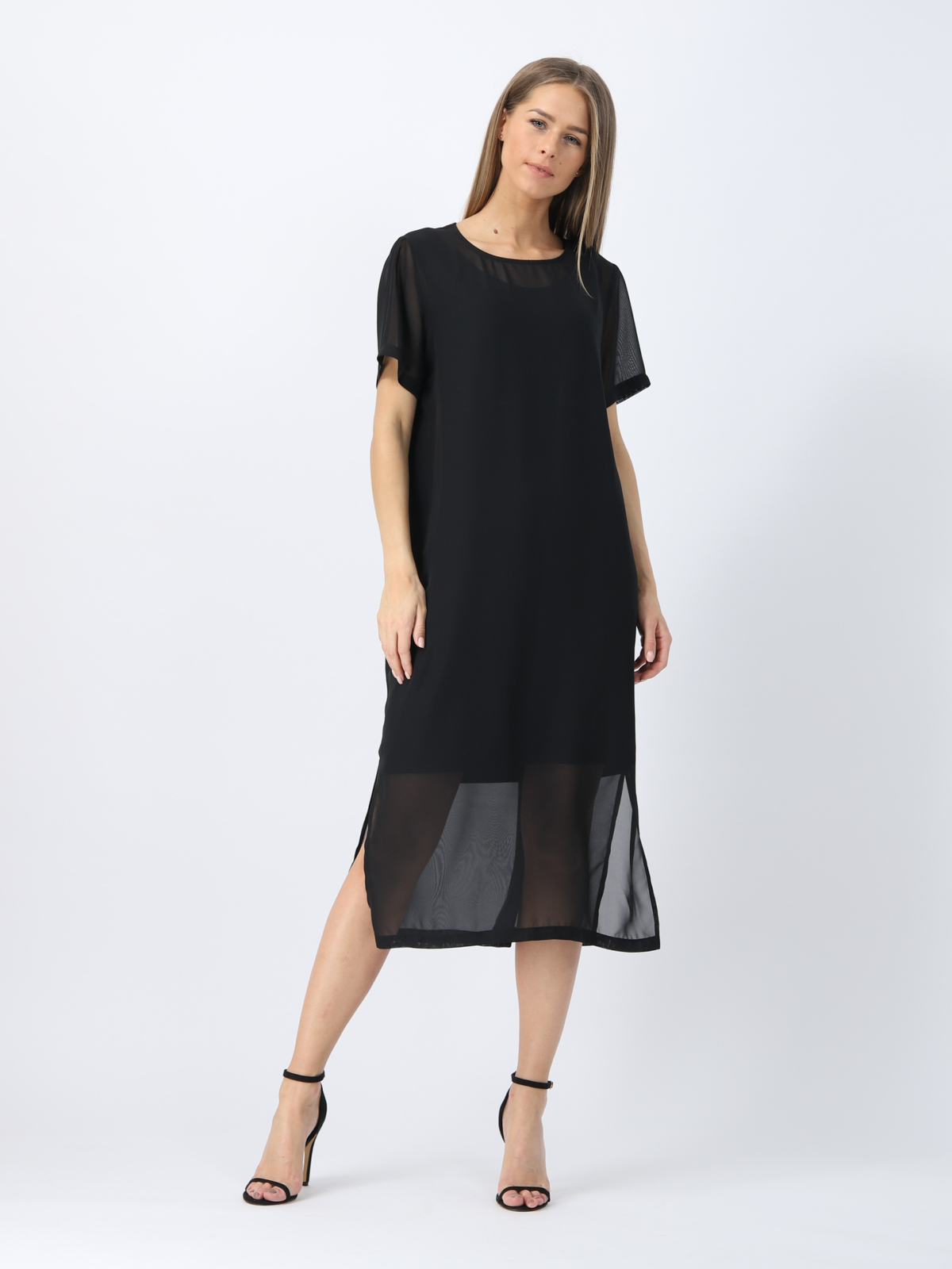 D4316 Платье VISAVIS женское Black 1